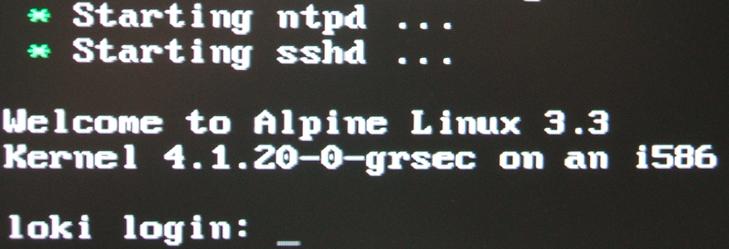 alpine-linux-setup